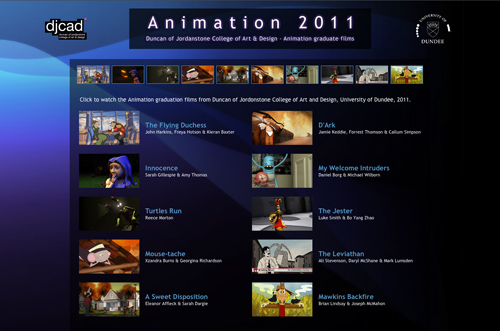 Animation 2011 website