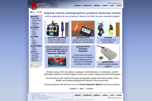 Genltes Ltd website